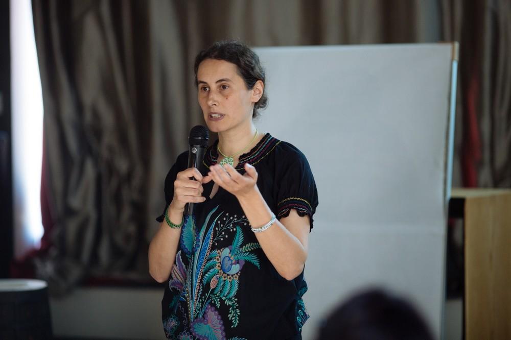 Dr. Anamaria Iuga, Șef Secție Studii Etnologice încadrul Muzeului Național al Țăranului Român