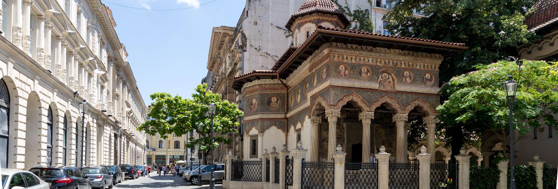 Biserica Stavropoleos pentru-Matricea-Romaneasca-foto-slider 1