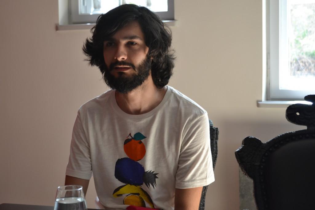 Iulian Moldovan, artist român în mozaic