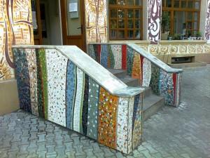 Balustradă şi scări