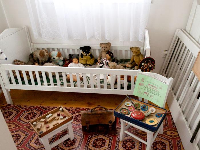 Camera cu jucării a copiilor familiei Arghezi