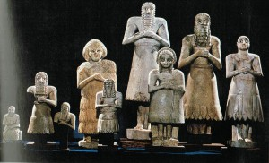 Statuete votive, Sumer, începutul mileniului III