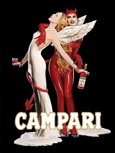 Reclamă la Campari, care speculează dualitatea umană
