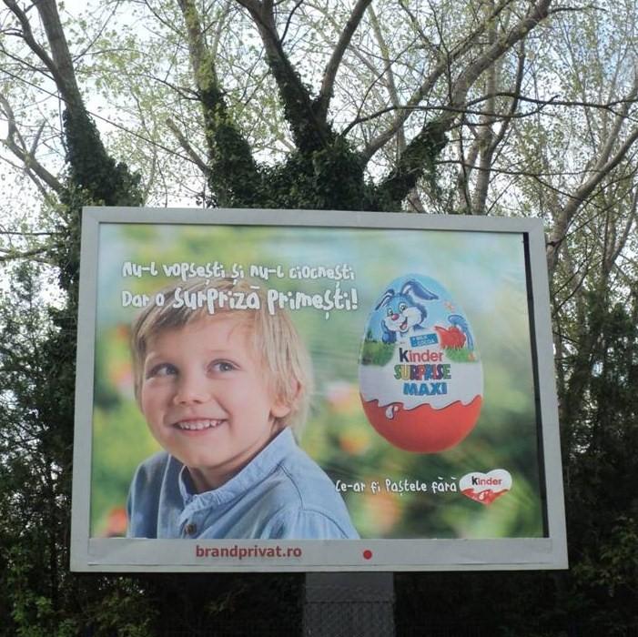 """""""Ce-ar fi Paştele fără Kinder?"""" - Această reclamă trivializează Paştele, potrivit cercetătorului american"""