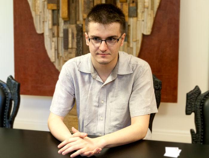 Alexandru Dragomir FOTO: Mihai Vladu