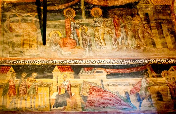 Pictura cu logodna Fecioarei Maria
