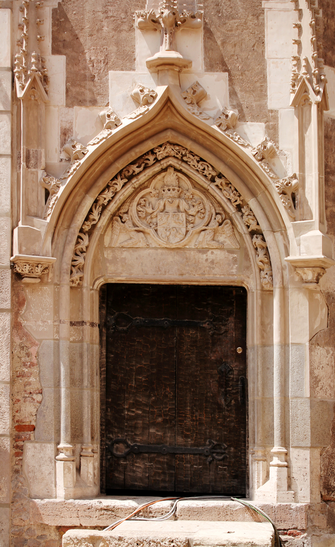 Poarta Castelului Corvinilor