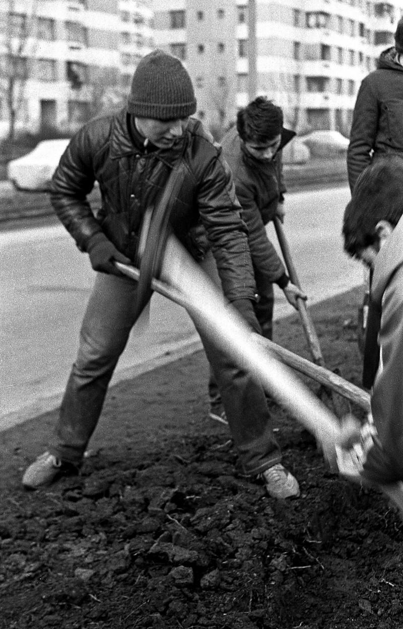 Muncă în Bucureştiul comunist