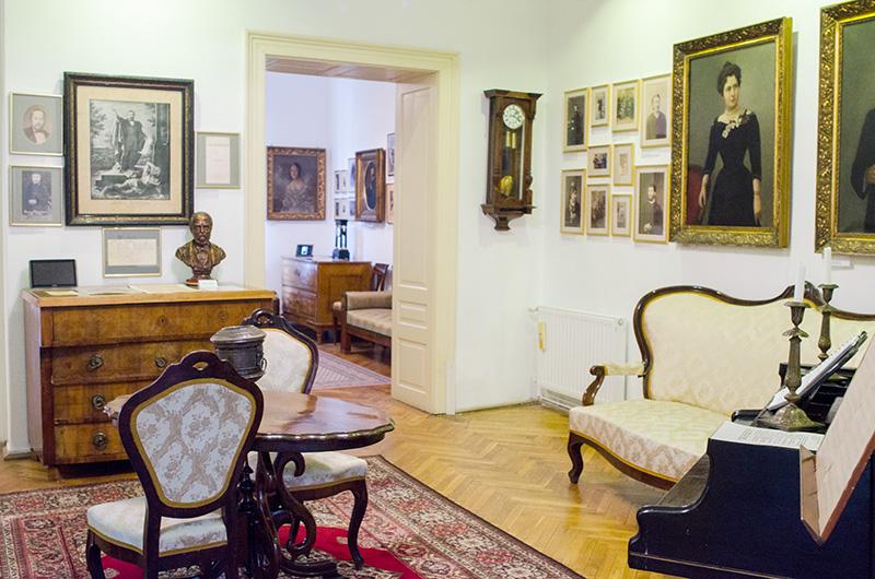 """Interior din Muzeul """"Casa Mureșenilor"""""""