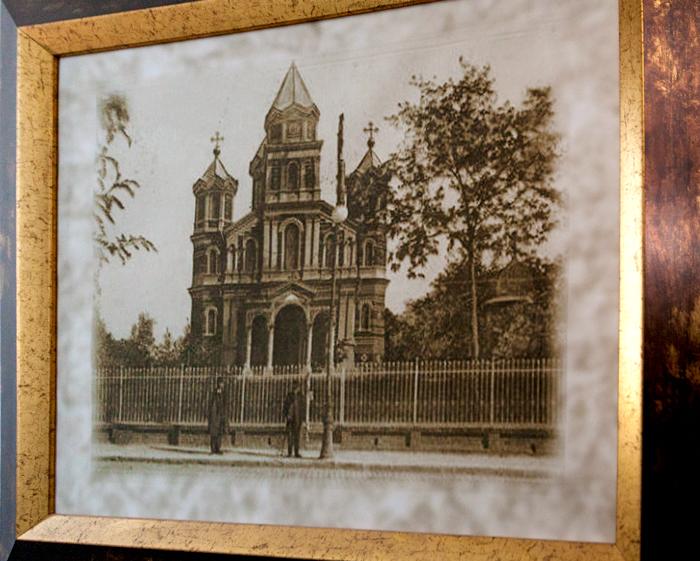 Biserica Mântuleasa din Craiova, la 1898