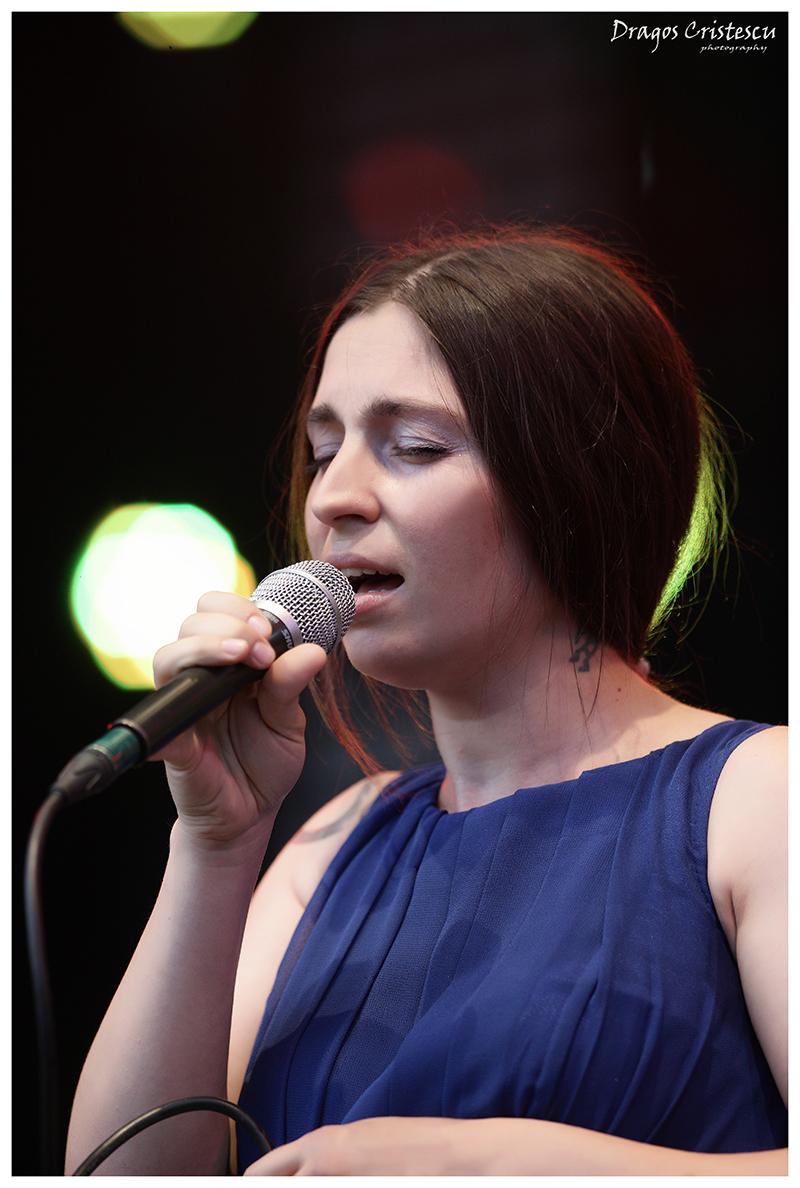 Luiza Zan, pe scenă