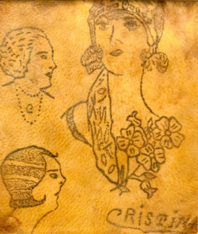 Tatuaje colecționate de către Nicolae Minovici