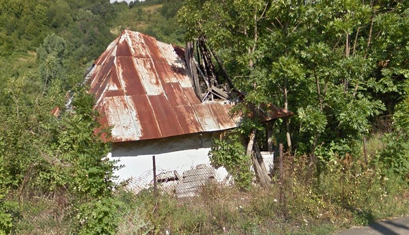 Ruina casei Aneta Anițescu, în 2012