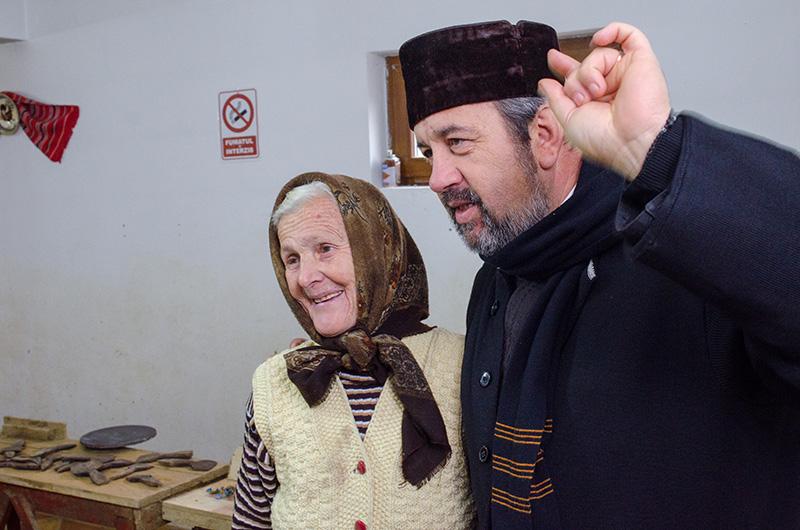 Preotul Daniel Mazilu are numai cuvinte de laudă pentru Valerica Ene