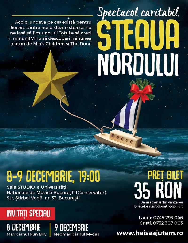 """Afișul spectacolului """"Steaua Nordului"""""""