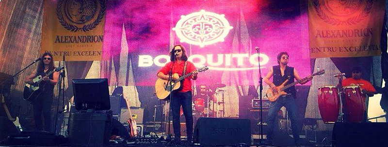 Bosquito, o trupă care face cinste României