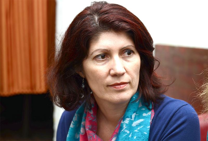 Doamna profesoară de Limba Română Ioana Panțucu predă de peste două decenii, din 1994