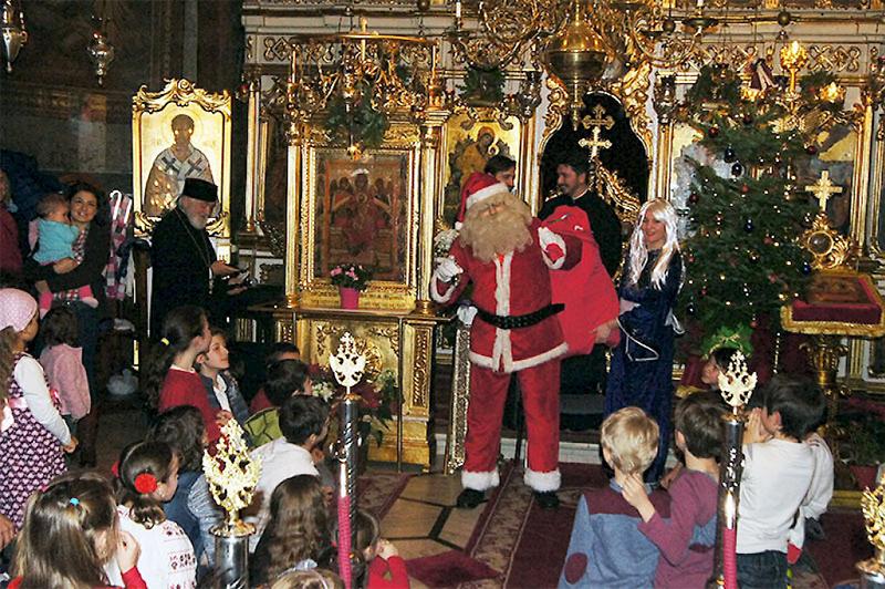 Crăciun la Biserica Icoanei din Capitală