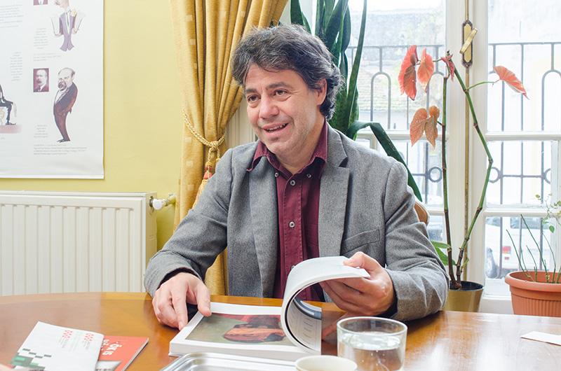 Directorul Institutului Maghiar din Bucureşti, jovial la întâlnirea cu Matricea Românească