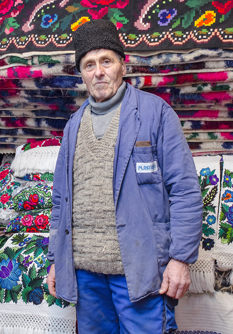 Un artist român: Pop Gheorghe din Sat-Şugatag, Maramureş