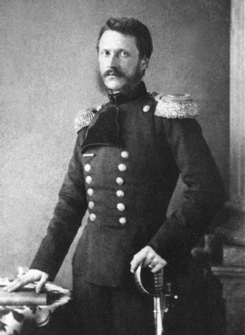 Domnitorul Alexandru Ioan Cuza, imortalizat de către fotograful său oficial, Carol Popp de Szathmári