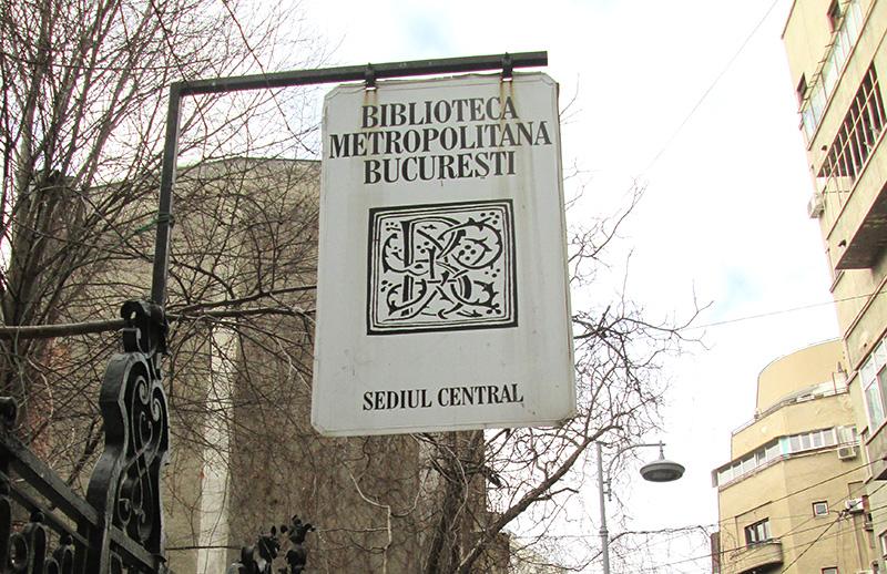 Sediul central al Bibliotecii Metropolitane București se află pe strada Tache Ionescu numărul 4