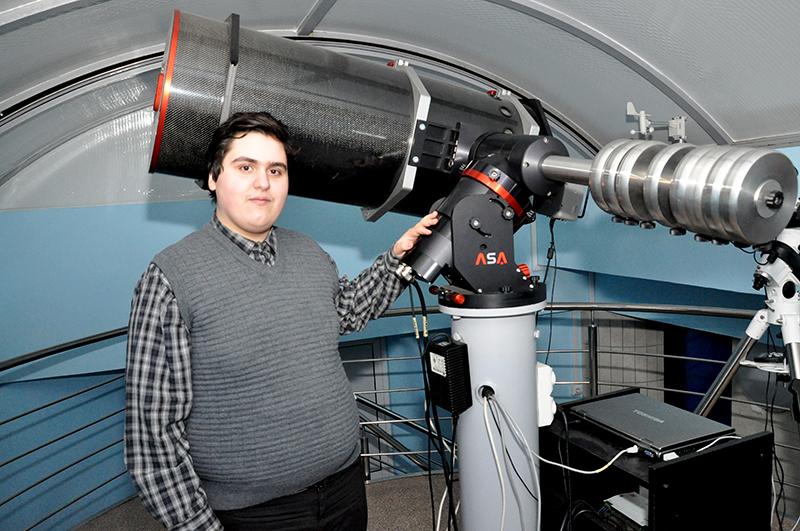 Andrei-Marian Stoian, la Observatorul Astronomic
