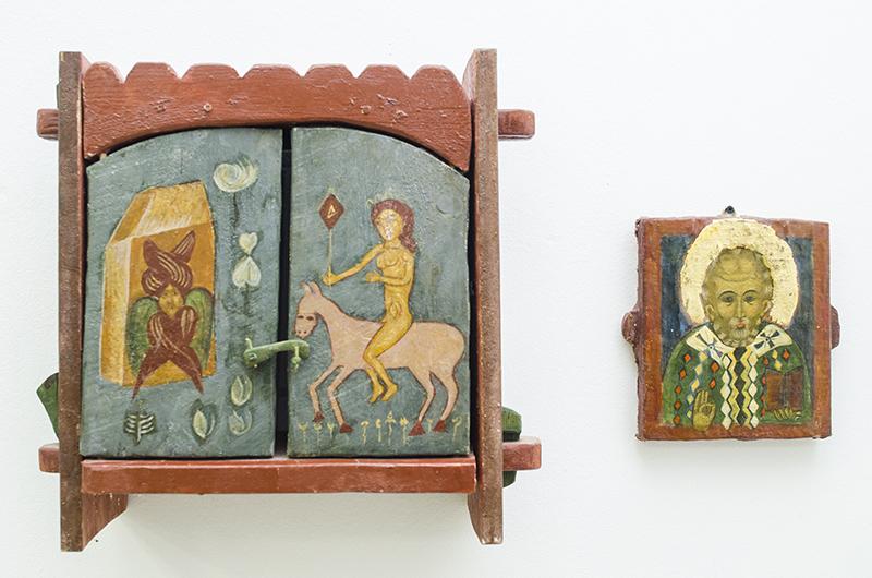 Lucrările dezvăluie sufletul de copil al pictorului-preot Ioan Avramescu