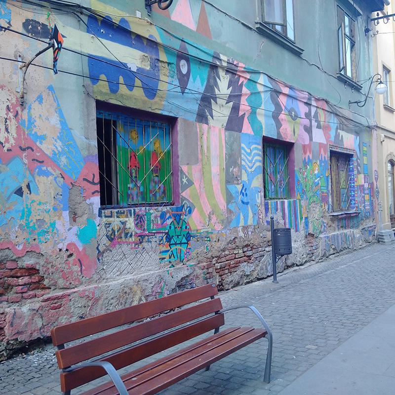 Artă stradală din Centrul Vechi