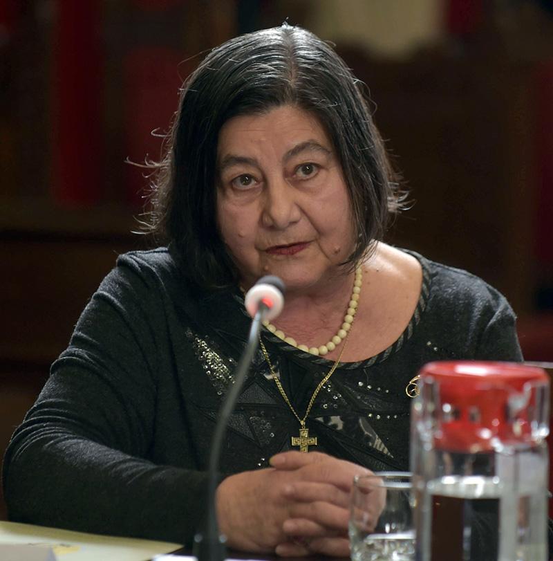 """Acad. Sabina Ispas, directorul Institutului de Etnografie și Folclor """"Constantin Brăiloiu"""" Foto: patriarhia.ro"""