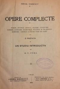 Eminescu scrieri politice si sociale Matricea Romaneasca interior (2)