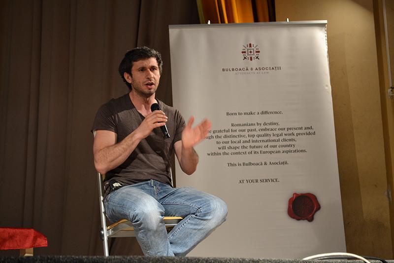 Sfaturi pentru carieră şi viaţă: actorul Dragoş Bucur