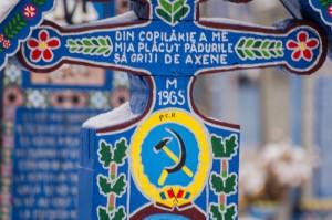 Nici comunismul nu a rezistat Cimitirului Vesel din Săpânţa