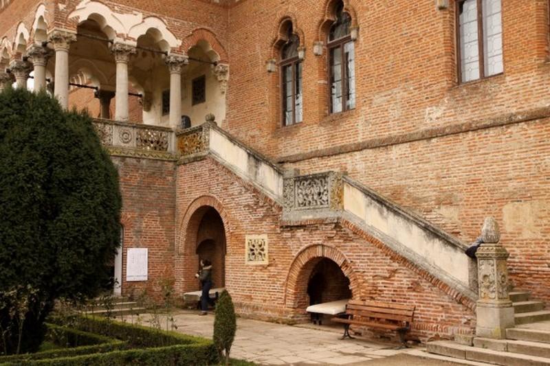 «Loggia» Palatului brâncovenesc de la Mogoșoaia