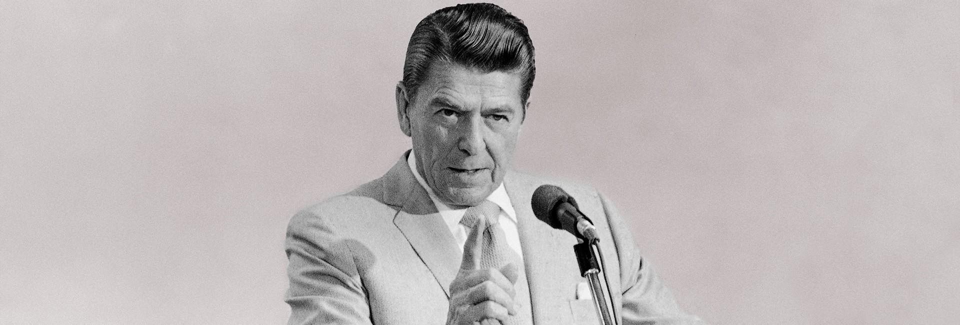 O statuie în Bucureşti pentru Ronald Reagan