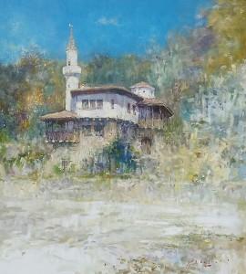 pictorul Vitalie Butescu interior (1)