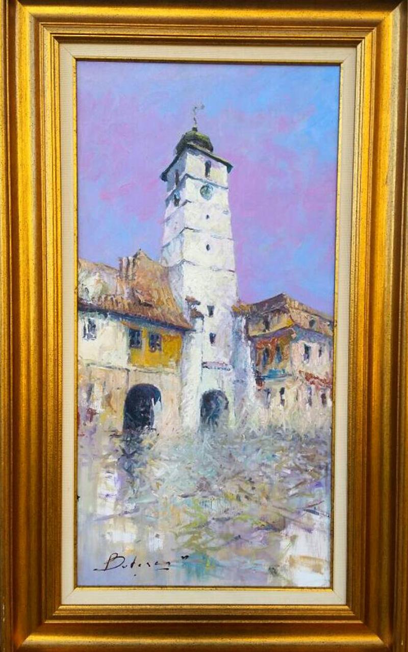 În Transilvania lui Vitalie Butescu te regăseşti într-un burg medieval unde te surprinde o arcadă, o turlã goticã de bisericã, o străduţă