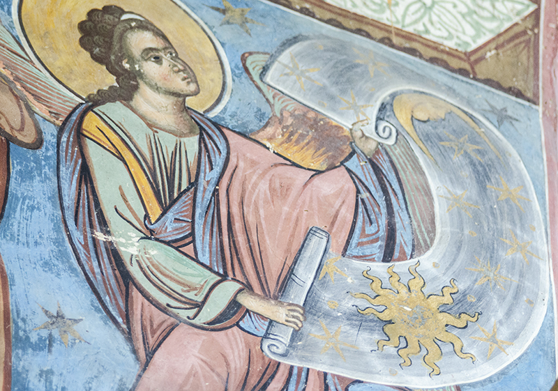 Dumnezeu sufletul românesc unghiuri drepte interior