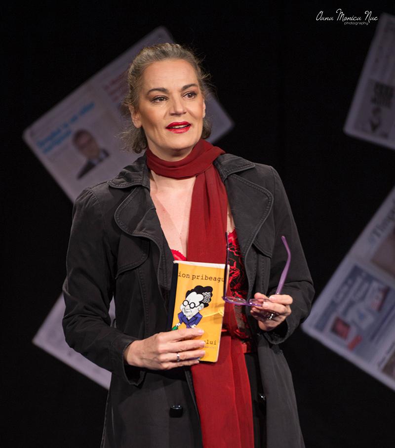 """Actrița Maia Morgenstern, în comedia """"Mic și-al dracu"""""""