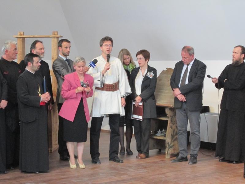 Gabriel Rustoiu, directorul Muzeului Național al Unirii din Alba Iulia, vorbind despre misiunea Museikon