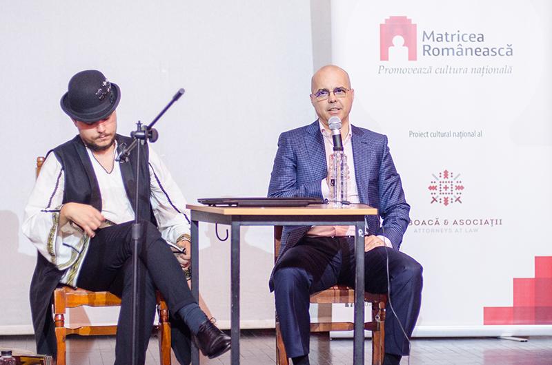 Adrian -Cătălin Bulboacă, inițiatorul proiectului Matricea Românească