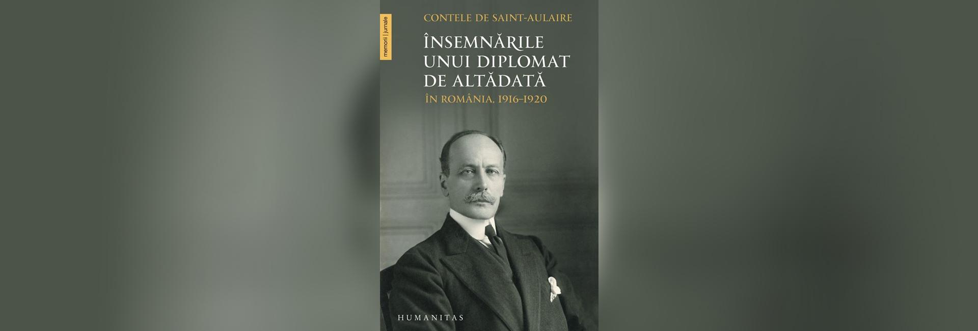 diplomat contele de Saint-Aulaire francez România slider