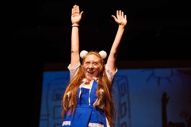 Toți spectatorii prezenți la Teatrul Național Timișoara au îndrăgit-o pe Francesca