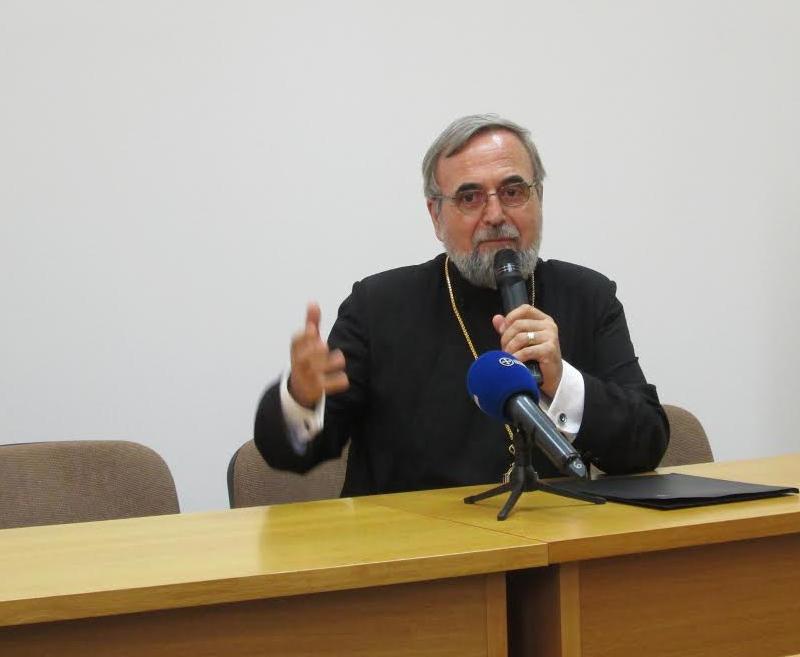 Pr. profesor Ștefan Buchiu, Decanul Facultății de Teologie Ortodoxă din București