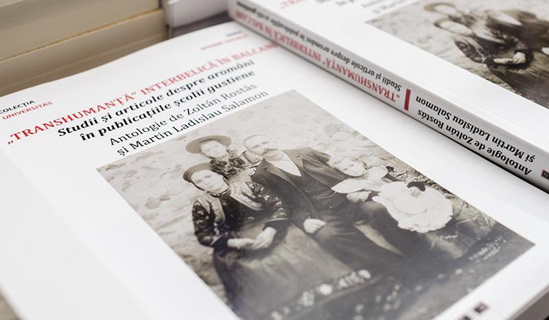 """Conferinţa despre aromâni a fost prilejuită de apariția mai multor lucrări, între care și antologia """"Transhumanță"""" interbelică în balcani"""