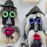 româncă Mirabela Busuioc Gura Humorului Bucovina măşti tradiţionale interior (2)