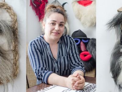 româncă Mirabela Busuioc Gura Humorului Bucovina măşti tradiţionale slider