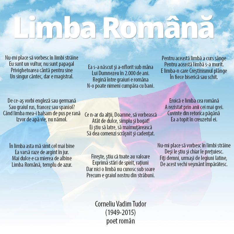 Poezie Ziua Limbii Române limba română identitate