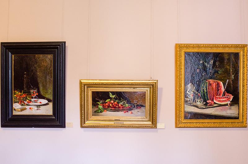Picturile lui Theodor Aman se remarcă prin atenţia sa extraordinară pentru detalii şi realismul tuşei