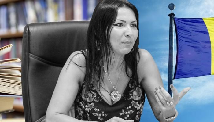 profesorul de Limba Română Carmen Bodiu cadru didactic identitate naţională România slider
